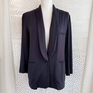 Soft Joie   Navy One Button Blazer   Size Medium